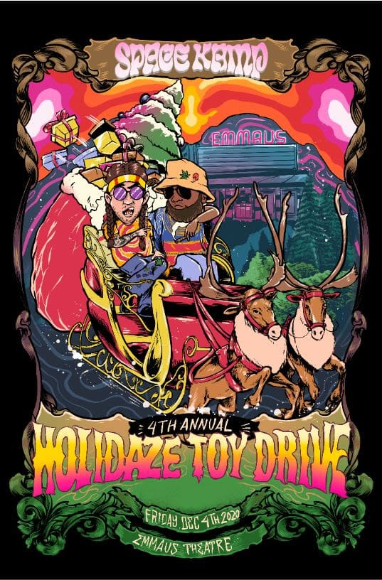 Space Kamp Holidaze Toy Drive The Philadelphia Globe